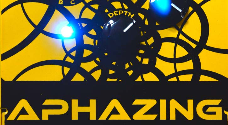 Aphazing | Phase Shifter effects pedal by Experimental Noize